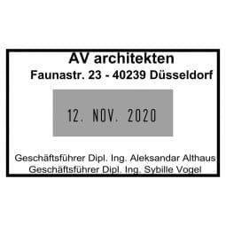 Trodat Printy 4729 Dater (50x30 mm - 4 Zeilen)