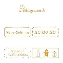 Colop EOS20 FK Sale mit Weihnachtsmotiv (38x14 mm )