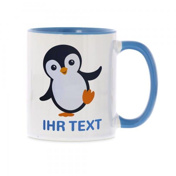 "Keramiktasse ""Pinguin"" inkl. individueller Druck"