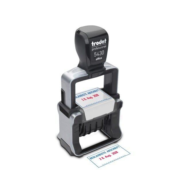 Trodat Office Professional 5430 BEGL. ABSCHRIFT (41x24 mm)
