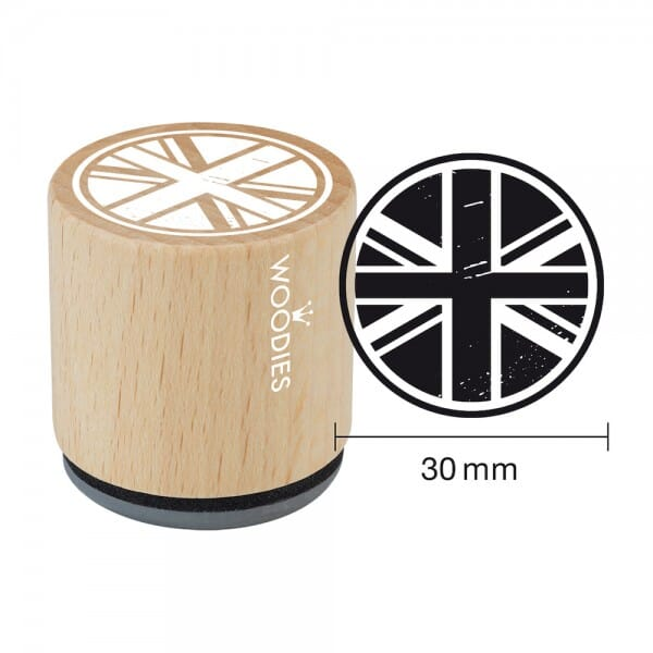 Woodies Stempel - Union Jack WE9004
