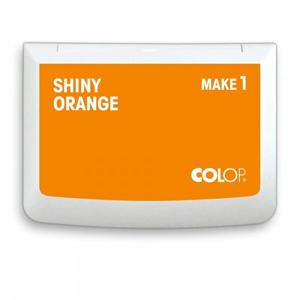 "COLOP Stempelkissen MAKE 1 ""shiny orange"" (90x50 mm)"