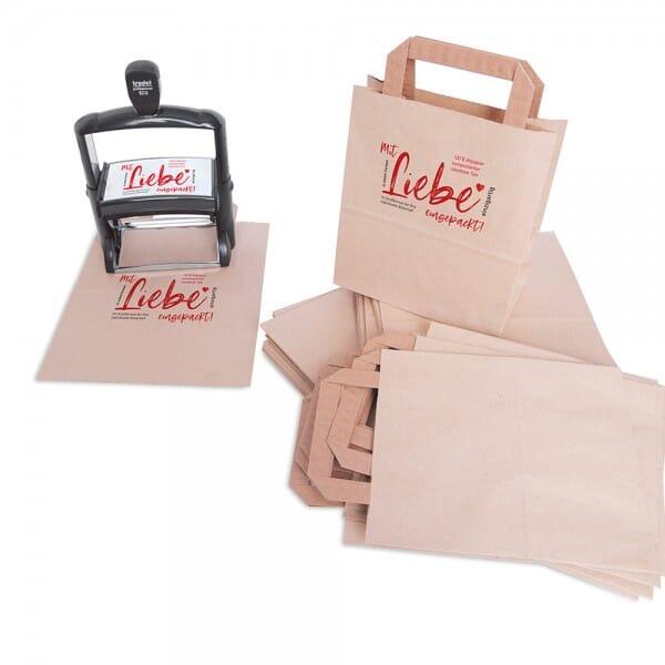 Papiertüten - Tütle - Größe XL (22 Liter - 250 Stück)