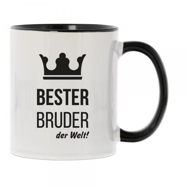 """Keramiktasse """"Bester Bruder der Welt"""""""