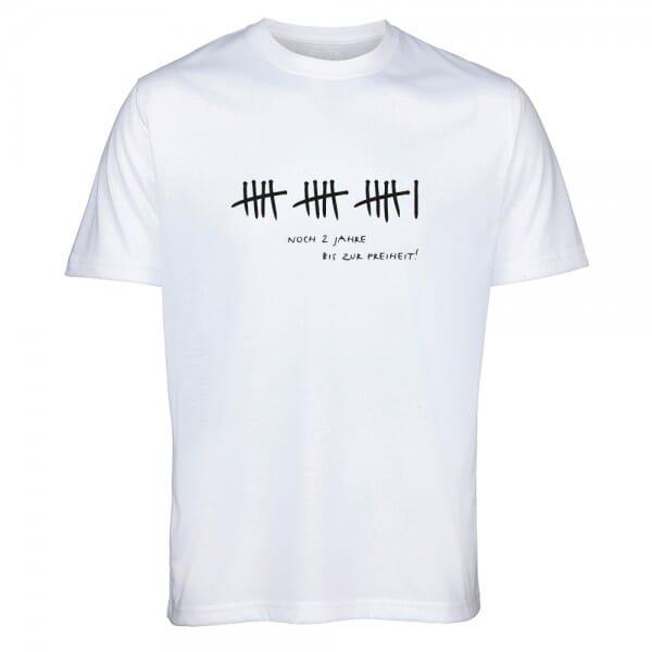 """T- Shirt Standard zum 16.Geburtstag """"16 - Noch zwei Jahre bis zur Freiheit"""""""