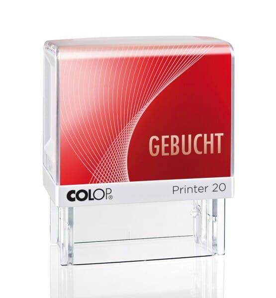 Colop Printer 20 LGT GEBUCHT (38x14 mm)