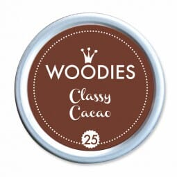 Woodies Stempelkissen - Classic Cacao