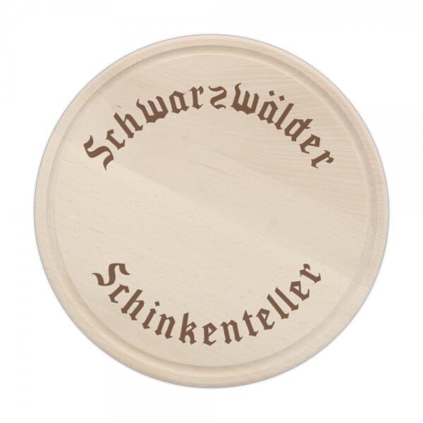 Schinkenteller (Gravurmaß Ø 200 mm)