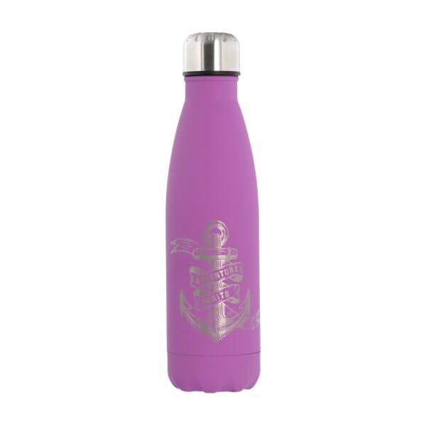 SALE - Isolierte Trinkflasche aus Edelstahl (Gravurmaß 11x8 cm)