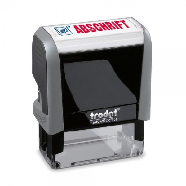 Trodat Office Printy Textstempel ´´Abschrift´´ 4912 (47x18 mm bei Stempel-Fabrik