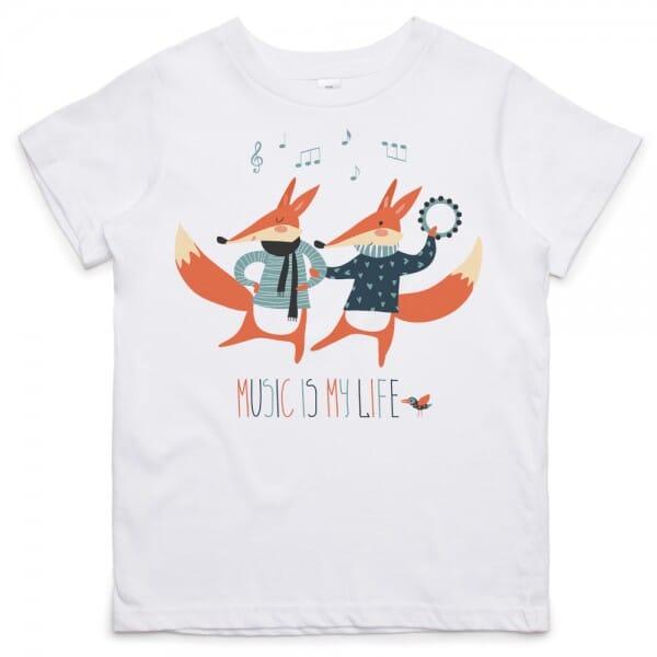 Kids T- Shirt individuell bedruckt (25x25 cm) bei Stempel-Fabrik