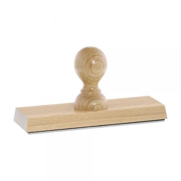 Holzstempel (160x50 mm - 10 Zeilen)