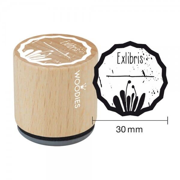 Woodies Stempel - Exlibris Motiv 1 W08003
