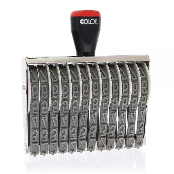 Colop Ziffernstempel 15012 (141x15 mm - 12-stellig)
