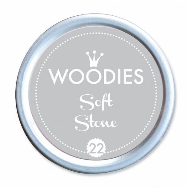Woodies Stempelkissen - Soft Stone bei Stempel-Fabrik