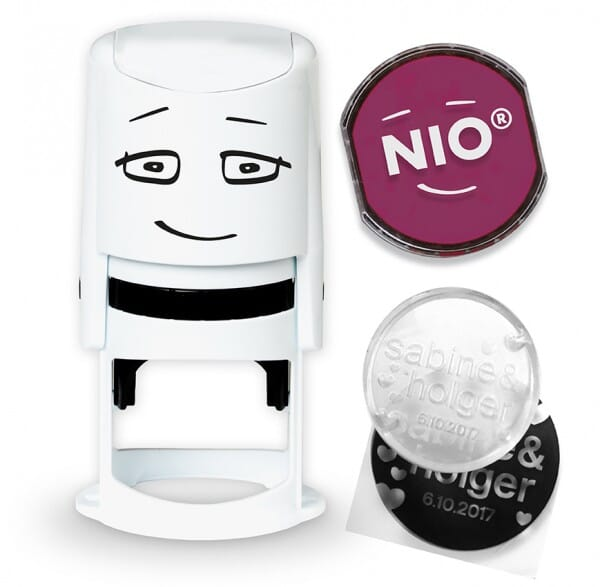 NIO Stempel cozy red