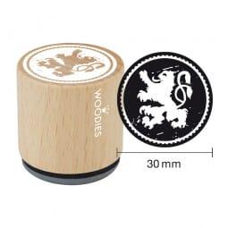 Woodies Stempel - Bayerischer Löwe