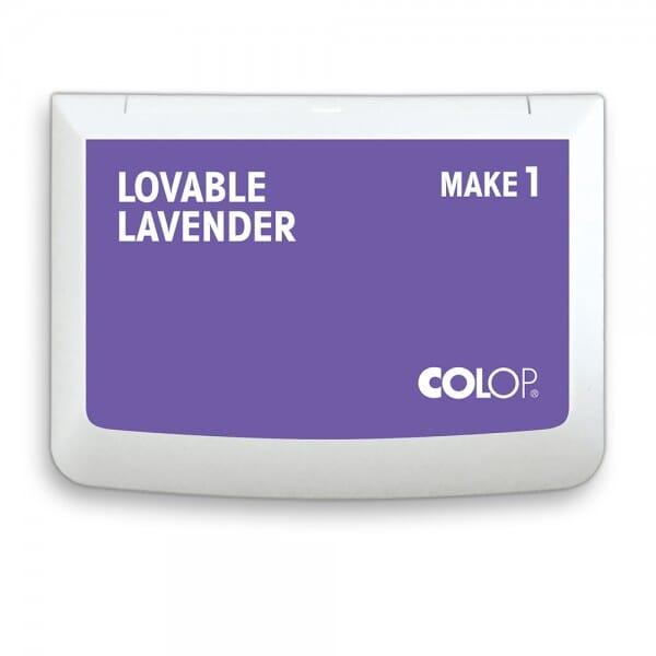 "COLOP Stempelkissen MAKE 1 ""lovable lavender"" (90x50 mm)"