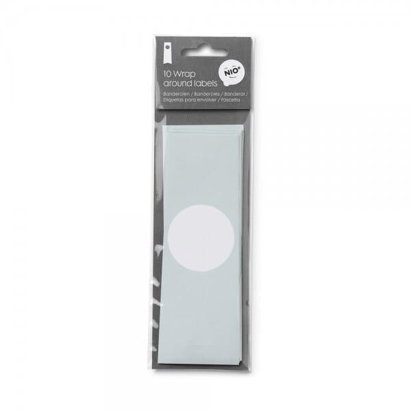 NIO Banderole Mint (310x55 mm - 10 Stück)