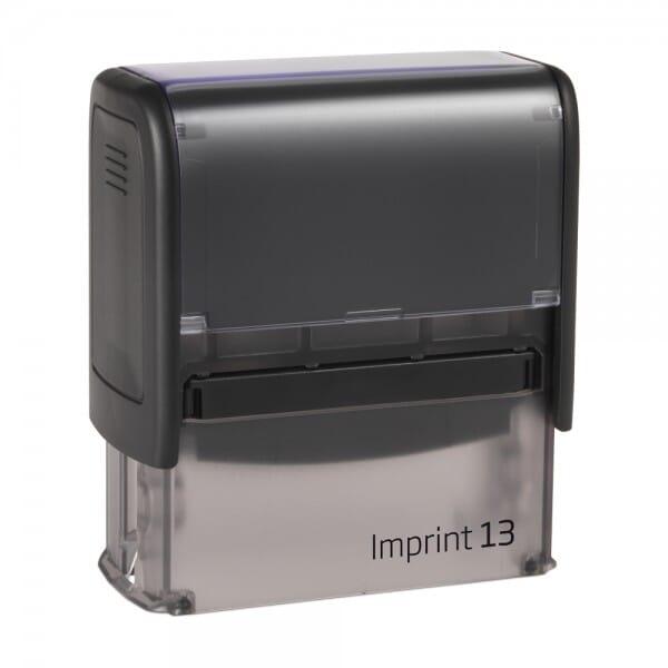 Dormy Imprint 13 (58x22 mm - 6 Zeilen) bei Stempel-Fabrik