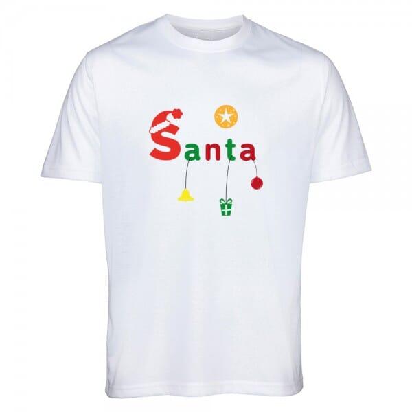 "T- Shirt Standard Weihnachten ""Santa"""