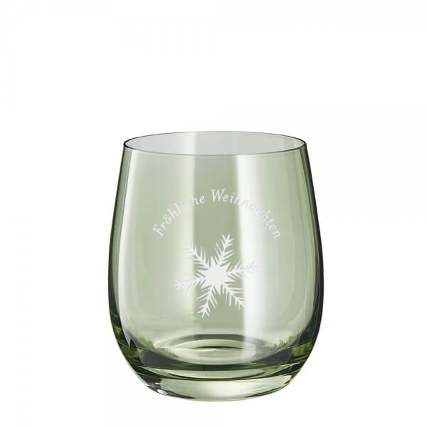 """Lasergraviertes Glas klein """"Fröhliche Weihnachten"""" - Leonardo®"""