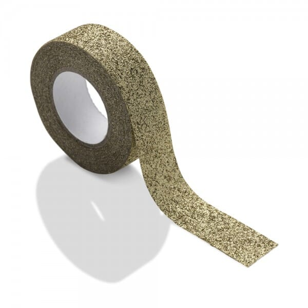 NIO Klebeband gold glitzernd (5 m)