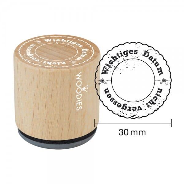Woodies Stempel - Wichtiges Datum bei Stempel-Fabrik