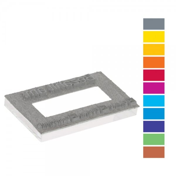 Textplatte für Trodat Professional PREMIUM 54110 (85x55 mm - 10 Zeilen)