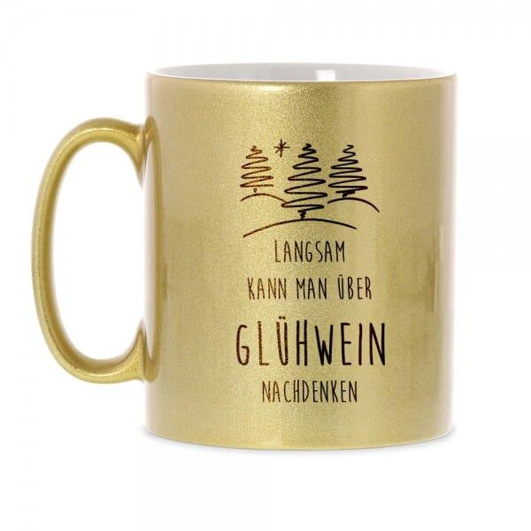 """Keramiktasse Weihnachten """"Glühwein"""""""