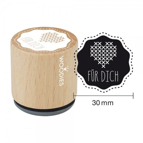 Woodies Stempel - Für Dich Motiv 1 bei Stempel-Fabrik