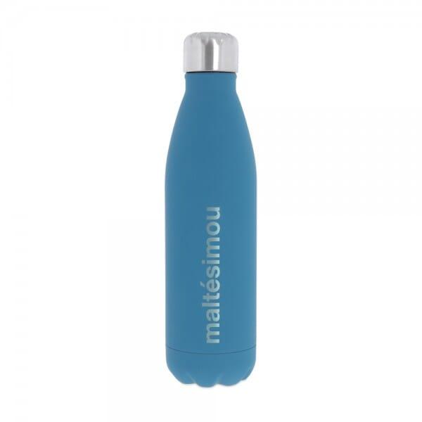Isolierte Trinkflasche aus Edelstahl (Gravurmaß 11x8 cm)