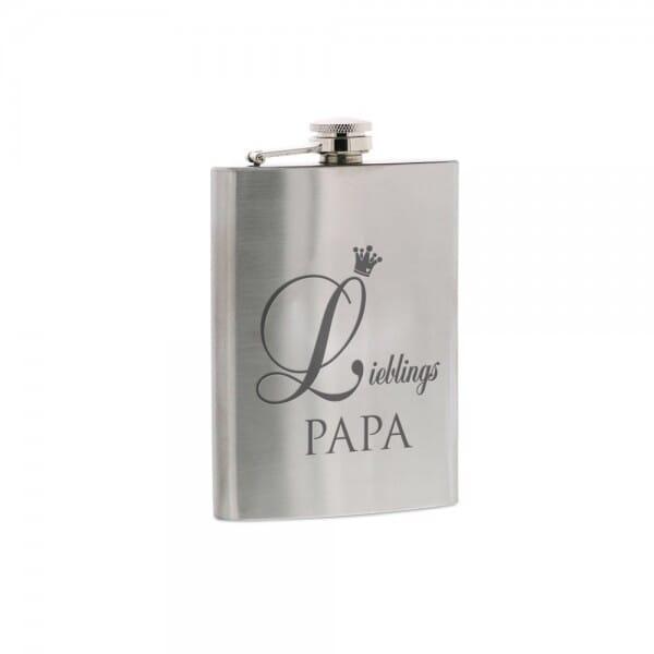 """Flachmann """"Lieblings Papa"""""""