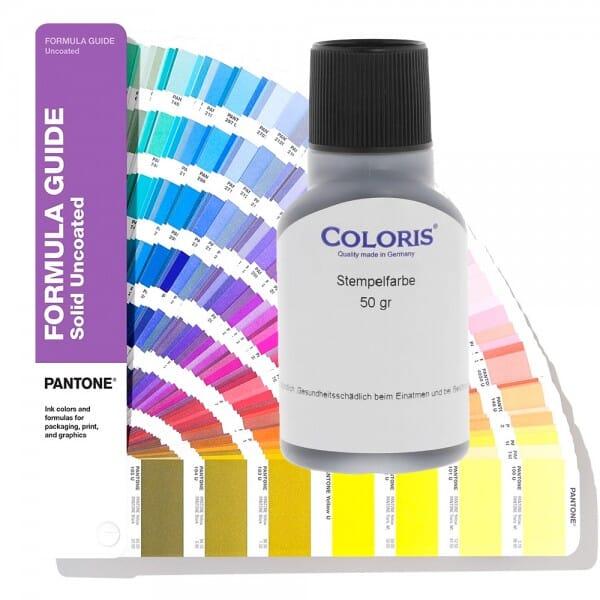 Coloris Stempelfarbe Pantone 4010