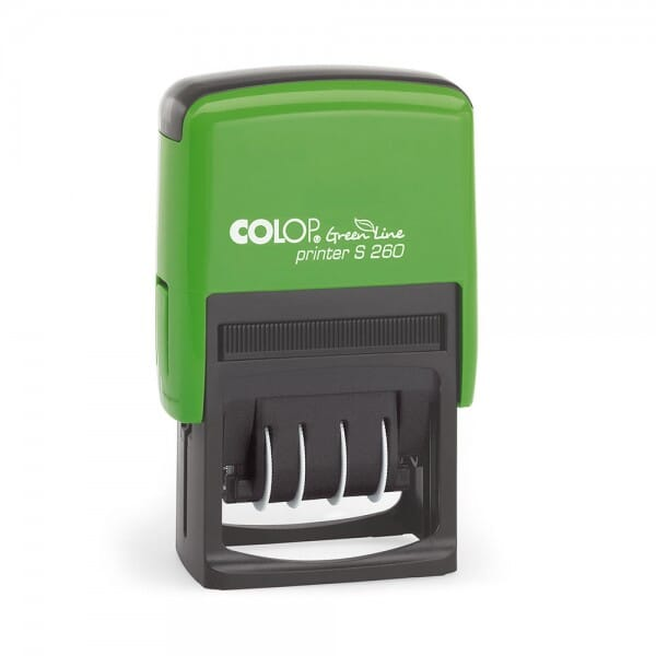 Colop Printer S 260 Green Line (45x24 mm - 3 Zeilen)