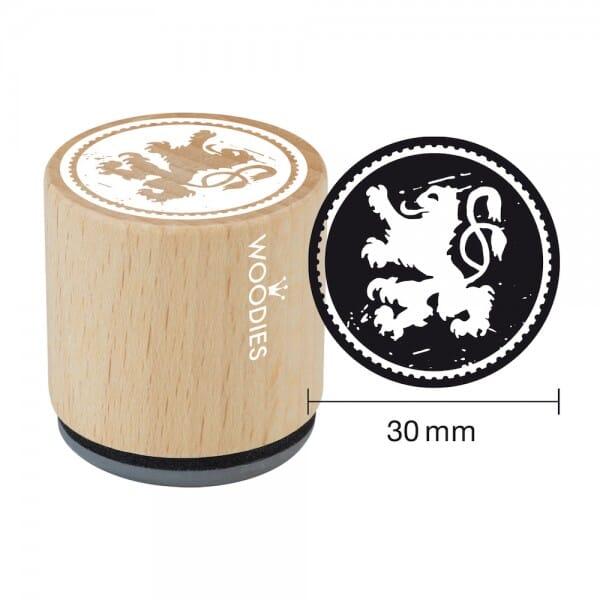 Woodies Stempel - Bayerischer Löwe W11008