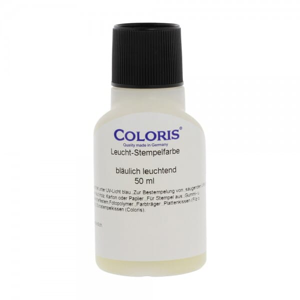 Coloris Stempelfarbe Leuchtstempelfarbe II bei Stempel-Fabrik