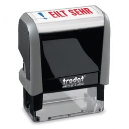 "AKTION - Trodat Office Printy Textstempel ""Eilt sehr"" 4912 (47x18 mm)"
