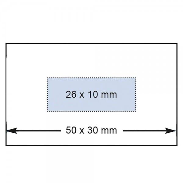 Reiner Datumstempel D53V mit Textplatte (50x30 mm)