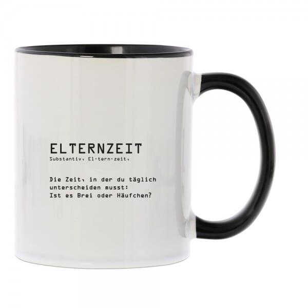 """Keramiktasse zum Abschied in die """"Elternzeit"""""""
