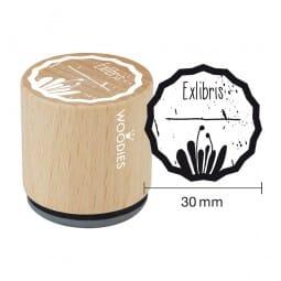 Woodies Stempel - Exlibris Motiv 1