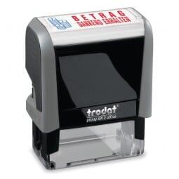 """Trodat Office Printy Textstempel """"Betrag dankend erhalten"""" 4912 (47x18 mm)"""
