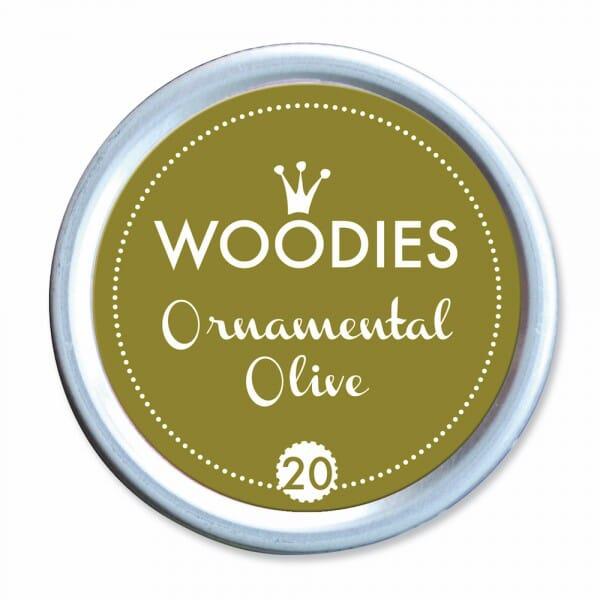 Woodies Stempelkissen - Ornamental Olive bei Stempel-Fabrik