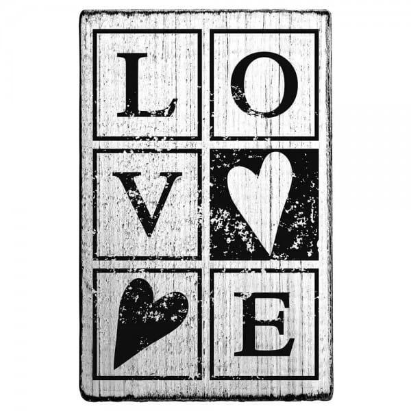 "Vintage Stempel ""Love"""