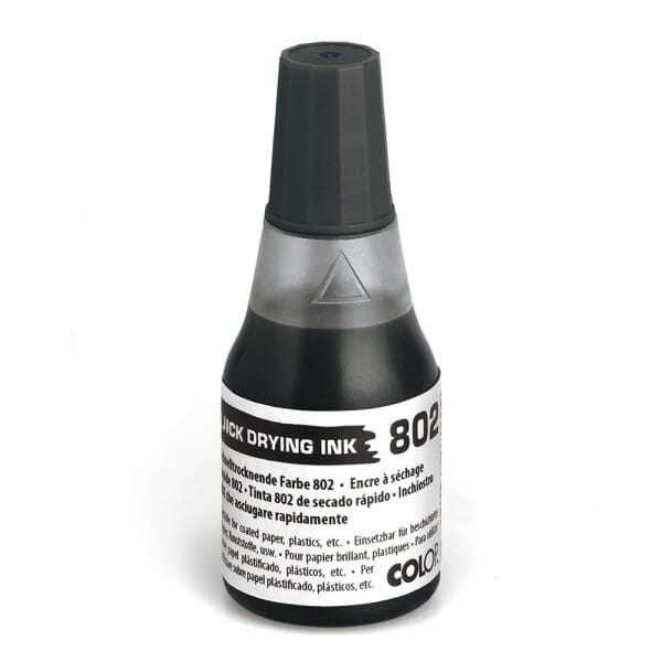 Colop schnelltrocknende Stempelfarbe 802 (25 ml)