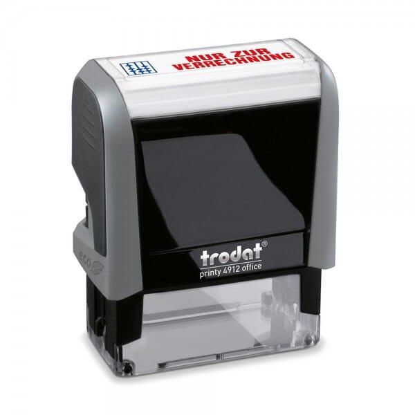 AKTION - Trodat Office Printy Textstempel ´´Nur zur Verrechnung bei Stempel-Fabrik