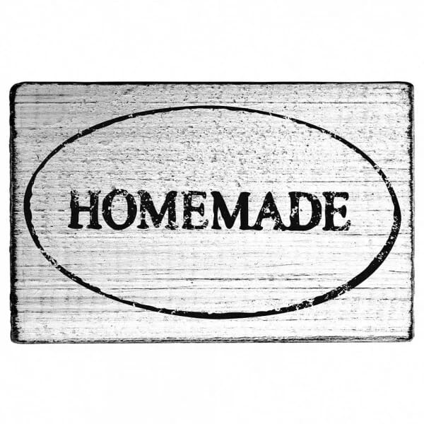 "Vintage Stempel ""Homemade"" mit Rahmen"