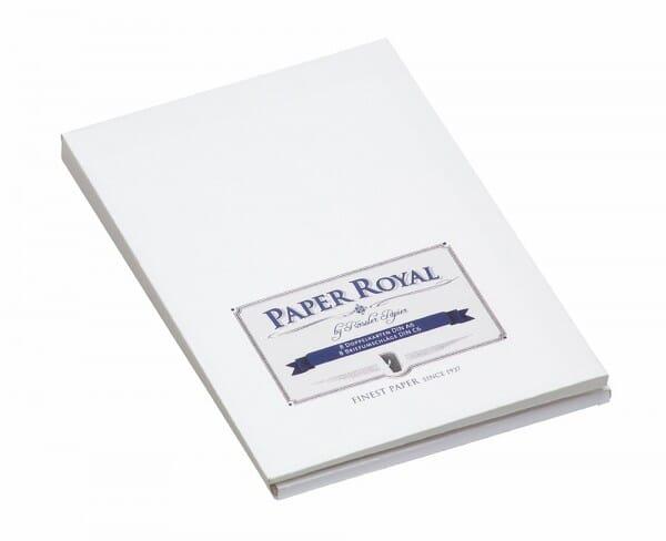 Kartenmappe weiß / blau (8 Karten - 8 Briefumschläge)