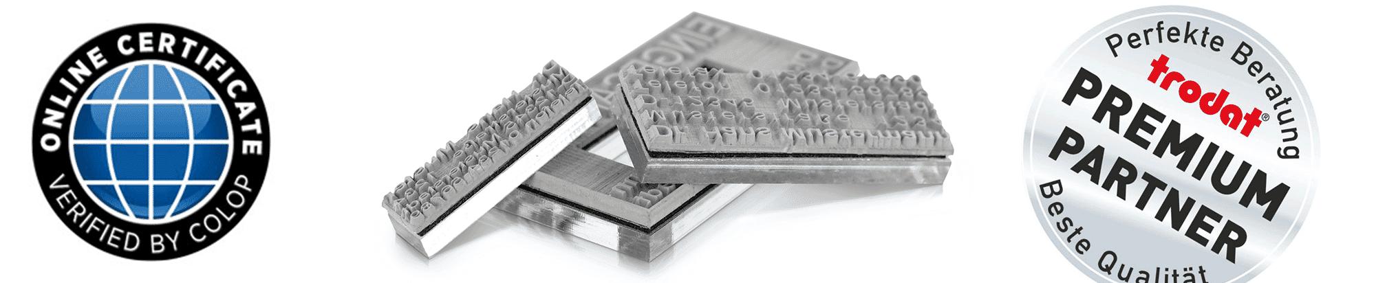 Trodat Premium Partner / Colop Zertifiert
