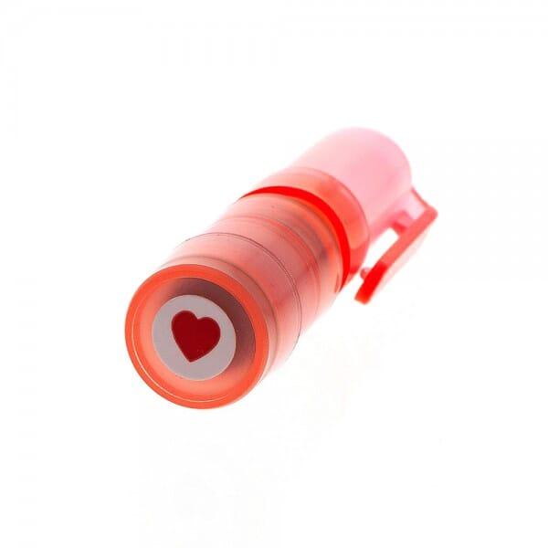 Motivstempel Herz (ø 9 mm) bei Stempel-Fabrik